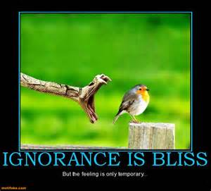 ignoranceisbliss